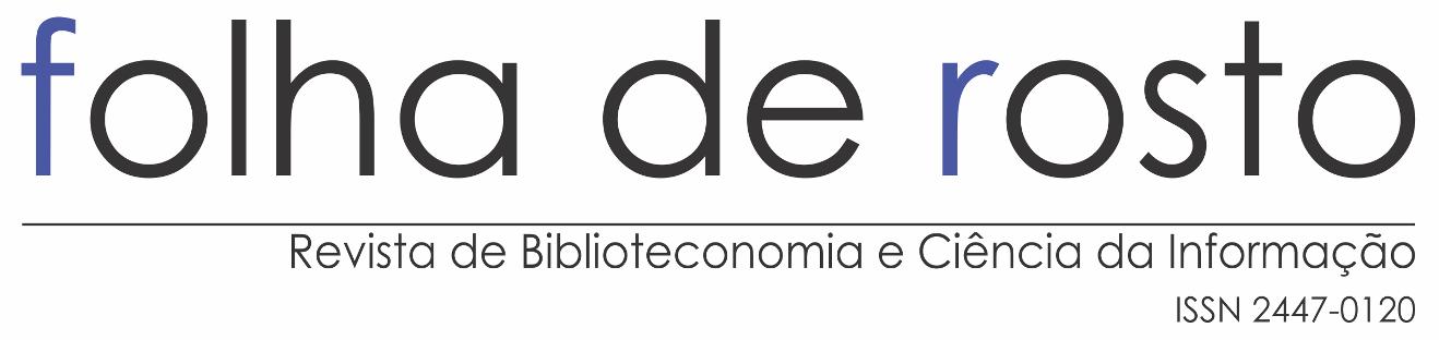 Folha de Rosto em Biblioteconomia e Ciência da Informação